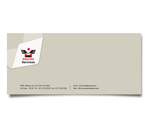 Envelope printing Courier Service