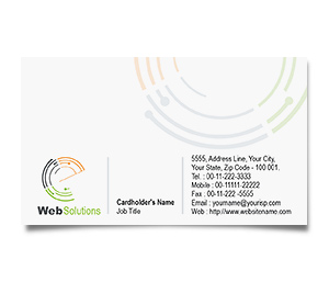 Business Card printing Website Solution