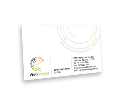 Online Business Card printing Website Solution