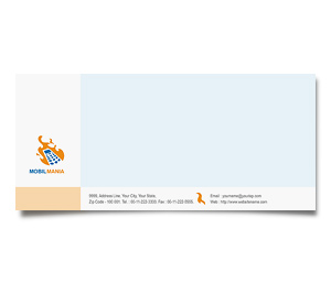 Envelope printing Mobile Communication Services