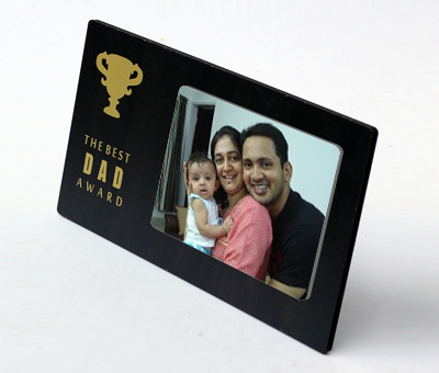 Online Photo Gifts printing Best Dad Photo Frame