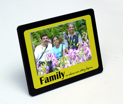 Online Photo Gifts printing Family Table Frame
