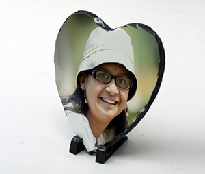Photo Gifts printing Photo Stone Heart