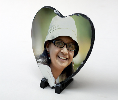 Online Photo Gifts printing Photo Stone Heart