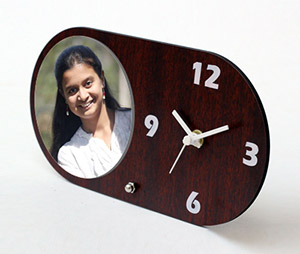 Photo Gifts printing Photo Table Clock