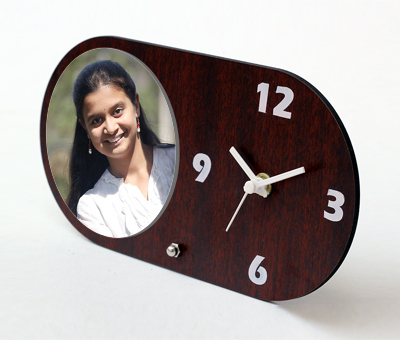 Online Photo Gifts printing Photo Table Clock