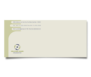 Envelope printing Social Services