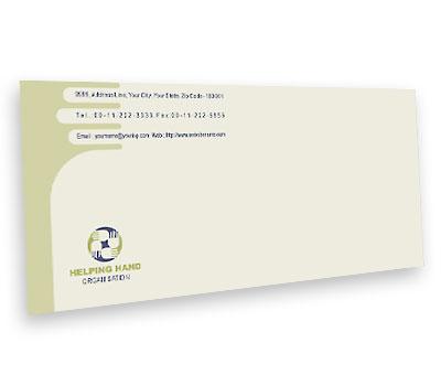 Online Envelope printing Social Services