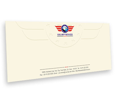 Online Envelope printing Security Guards Services