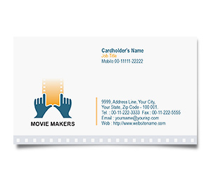 Business Card printing Video Movie Maker