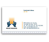 Online Business Card printing Video Movie Maker