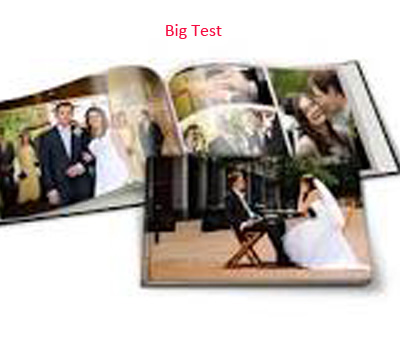Online Photo Books printing Photo Book Test
