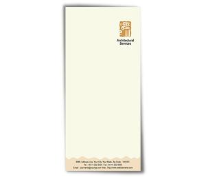 Envelope printing Construction