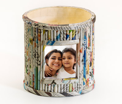 Online Recycled Penstands printing Recycled Pen Stand 4