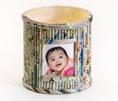 Online Recycled Penstands printing Recycled Pen Stand 5
