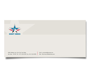 Envelope printing Security Service
