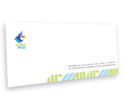 Online Envelope printing World Peace