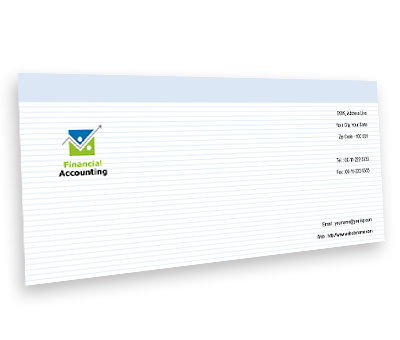 Online Envelope printing Business Finance Solution