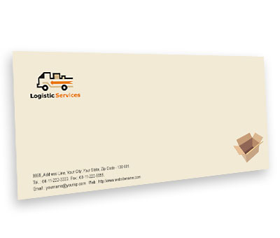 Online Envelope printing Transport Logistics
