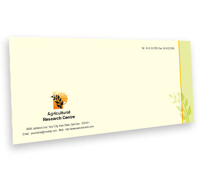 Online Envelope printing Agricultural Research Centre