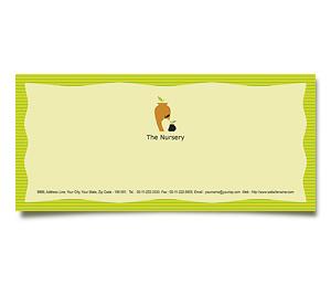 Envelope printing Plants Nursery