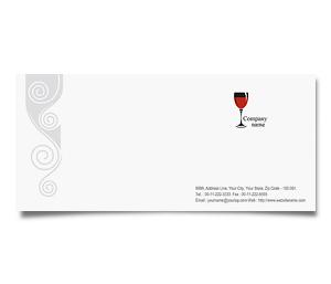Envelope printing Pub Bar