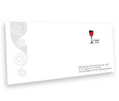 Online Envelope printing Pub Bar