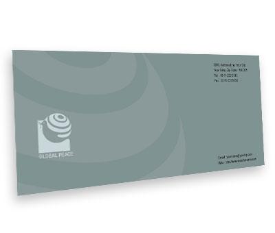 Online Envelope printing Global Peace Unity