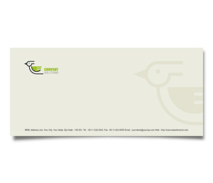 Envelope printing Bird and Pet Clinic