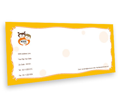 Online Envelope printing Kids Era
