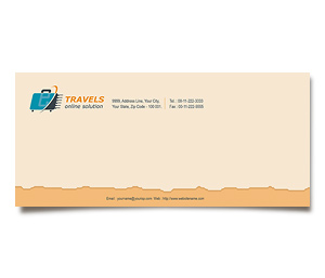 Envelope printing Online Travel Agents