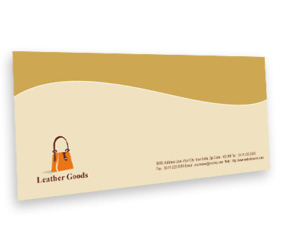 Online Envelope printing Leather Fashion