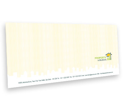 Online Envelope printing Property Valuation