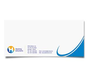 Envelope printing Hosting Package