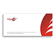 Online Envelope printing Airlines Travel