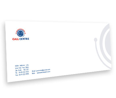 Online Envelope printing Call Centre Business