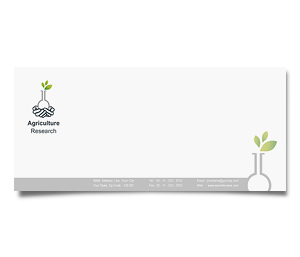 Envelope printing Agricultural Research Council