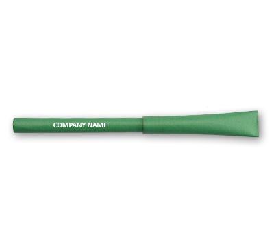 Online Flexi Paper Pens printing Deep Green Paper Pens