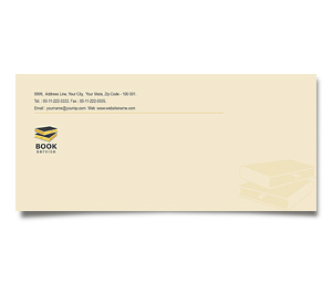 Envelope printing Library Book Sale