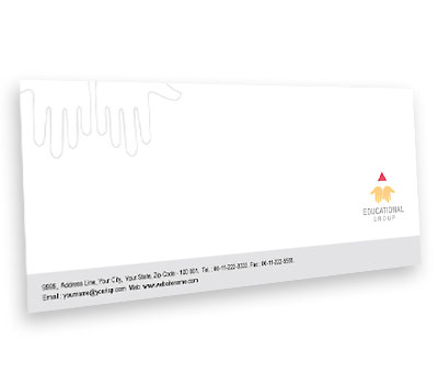 Online Envelope printing Education Department