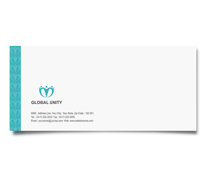 Envelope printing Global Unity