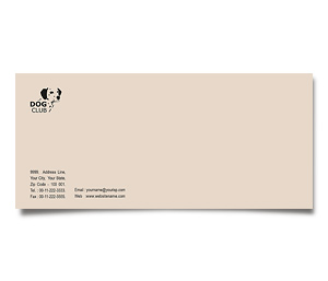 Envelope printing Dog Training Club