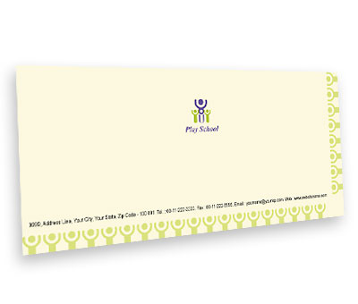 Online Envelope printing Play School