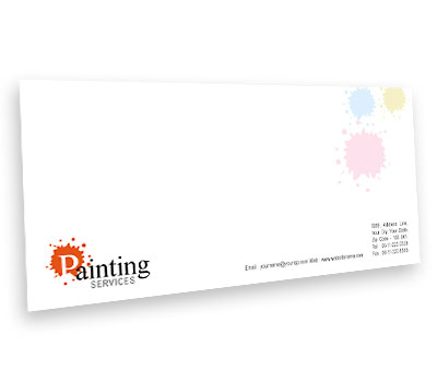 Online Envelope printing Paint Services