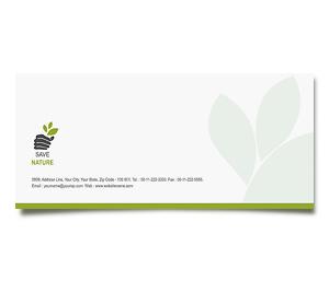 Envelope printing Tree Harvest