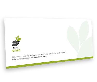 Online Envelope printing Tree Harvest