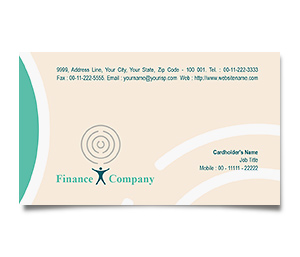 Business Card printing Loan Finance