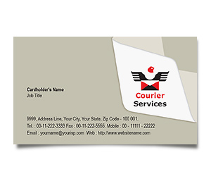 Business Card printing Courier Service