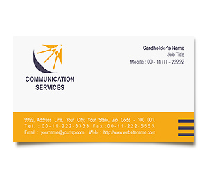 Business Card printing Communication Centre