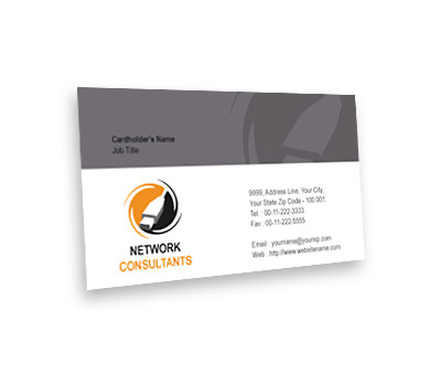 Business card design for computer network service offset or digital online business card printing computer network service colourmoves